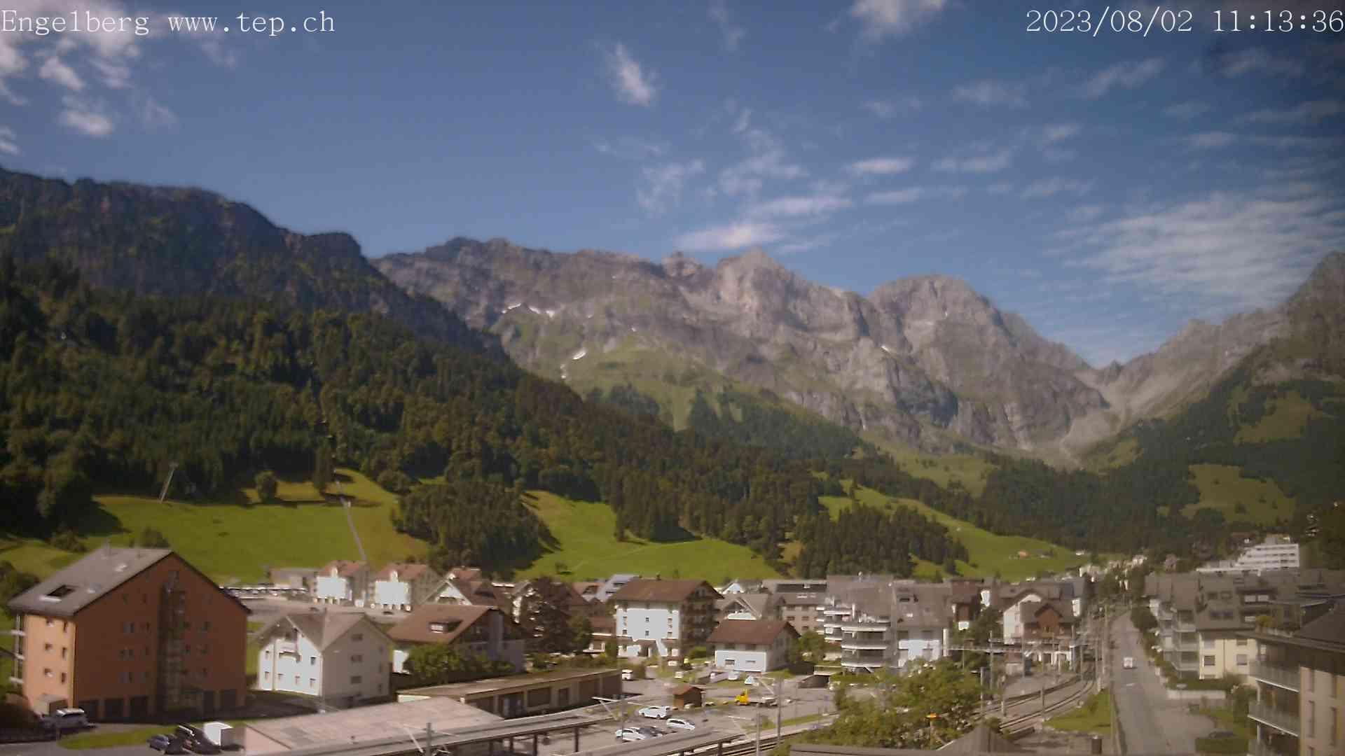 Engelberg village webcam